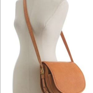 Jcrew new without crossbody strap leather purse